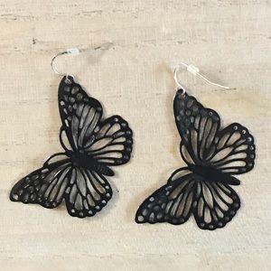 Vintage butterfly earrings